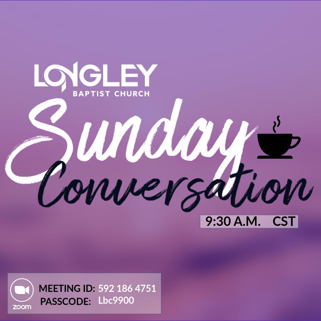 Sunday Conversations